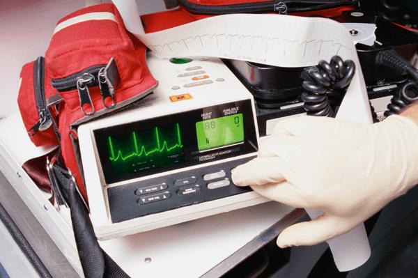 Defibrillator Cable Resistance Event Tester